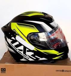 Título do anúncio: Hobbies Promoção Capacete Moto Mixs Esportivo Design e Conforto Exclusivo Coleções <br>
