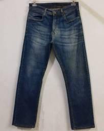 Calça jeans com strech tam 40