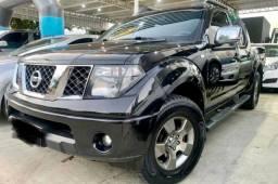 Título do anúncio: Frontier LE 2009 Automática Diesel Couro