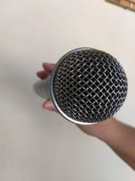 Microfone Shure Profissional S/fio Slx24/ 58a