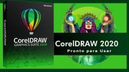 Coreldraw 2020 - Com Licença Permanente - Envio Agora - Ac Picpay ou Pix