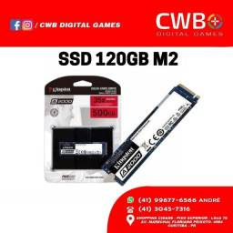 SSD 120gb M2 Kingston. Loja Física