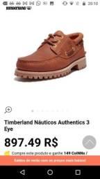 Vendo ou troco sapato Timberland Top