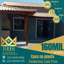 Título do anúncio: RI  Casa com 2 quartos à venda por R$ 160.000 ? Unamar ? Cabo Frio/RJ.
