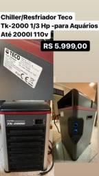 Título do anúncio: DE 18 mil POR 6 mil. Chiller/Resfriador teco TK 2000 p/ Aquário