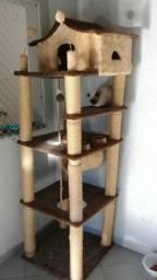 Arranhador Castelo Gigante Para Gatos