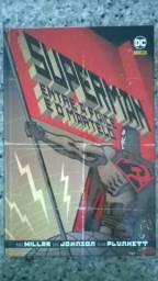 HQ revista superman entre a foice eo martelo