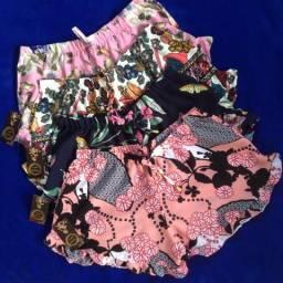 Shorts e Regatas de tecidos