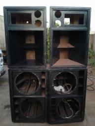 Gabinete de caixa de som