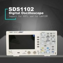 Osciloscópio 100mhz Digital 2 Canais 1gsa/s ñ minipa hantek utd unit