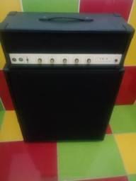 Amplificador valvulado para contrabaixo marca TS3 Giannini