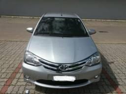 Etios sedan platinum! Carro muito novo sem detalhes - 2016