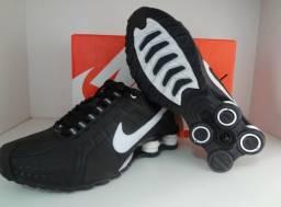7d92c0585bc Nike Shox Preto Junior - Numero 41   Aceitamos  Cartões