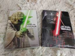 STAR WARS 2 TRILOGIAS COMPLETAS EM DVDs ORIGINAIS