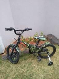 Linda bicicleta infantil aro 16