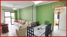 Apartamento com 3 dormitórios à venda, 87 m² por R$ 310.000 - Tupi - Praia Grande/SP