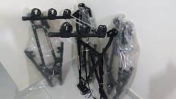 Transbike de reboque Modelo V 3 Bikes Novo Instalado