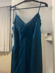 Vestido festa Azul G