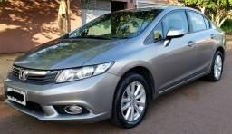 Excelente Negócio! Honda Civic LXS 1.8 AT 13/14.