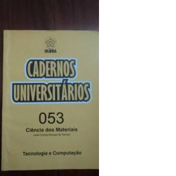 Caderno Universitário - Ciência dos Materiais