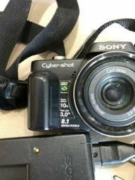 Maquina fotográfica pouco tempo de uso