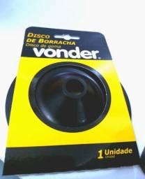 """Disco de borracha para lixadeira 4.1/2"""" flexível - Vonder"""