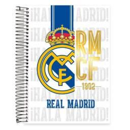 Caderno Real Madrid - 10 matérias