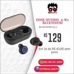Fone Ouvido aW-1 Bluetooth (Nos cartões sem juros )