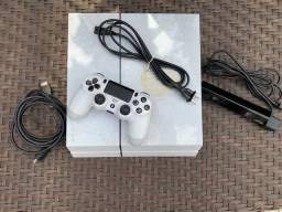 Ps4 branco edição especial Destiny + 5 jogos + Playstation Camera