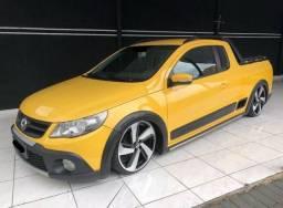 Volkswagen saveiro cross amarelo 2012 1.6 Mi Total Flex 8V Cabine Estendida R$35.300