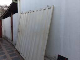 Portão de Garagem e Social - Novo