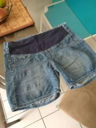 Short e calça para gestantes