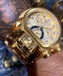 Relógios invicta e bulgari