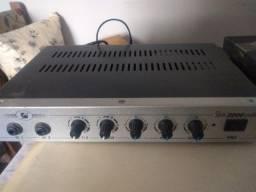 Amplificador Slim 2000 100Watts RMS
