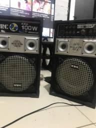 2 Caixas de som (usada)