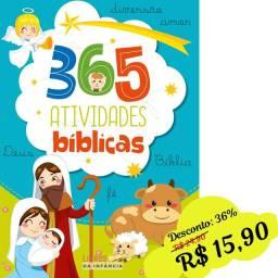 Livro bíblico p/criança: 365 Atividades Bíblicas