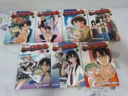Mangás volumes 1-7