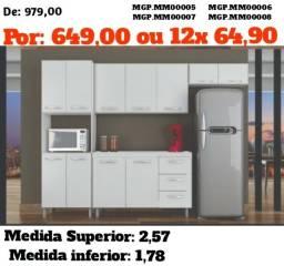 Cozinha completa compacta - Top de Linha - Direto da Fabrica