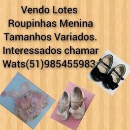 Lote Meninas Apartir $50,00.