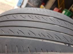 Título do anúncio: 2 pneus Hifly 195/55/15 meia vida (passa vistoria) - parcelo no cartão