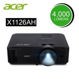 Projetor Acer X1126AH 4.000 Lumens SVGA hdmi 3d Preto