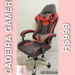 Cadeira gamer vermelha 999 a s X C cm l o