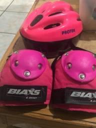 Kit proteção rosa