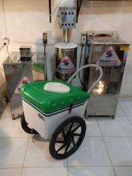 Produtora de sorvete e picolé eletrofrio