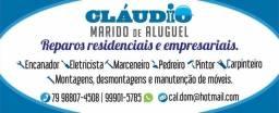 Título do anúncio: Cláudio Marido de Aluguel