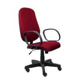 Título do anúncio: Vendo Cadeira Presidente Giratória Bordô