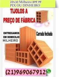 Título do anúncio: tijolos por carradas tijolos diretamente de fábrica