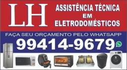 LH ASSISTÊNCIA TÉCNICA EM ELETRODOMÉSTICOS EM GERAL ATENDIMENTO 24 HORAS