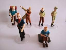 Kit Miniaturas As Aventuras de Tim Tim