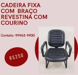 Título do anúncio: Cadeira Fixa com Braço